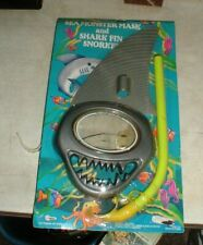 Kid's Sea Monster Mask & Shark Fin Snorkel Swimming Scuba Toys in Sealed Package