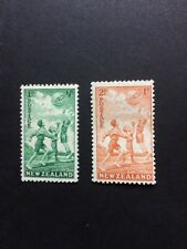 New Zealand Sg626/7 1940 Health Stamps Mounted Mint