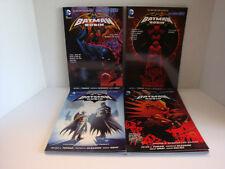 DC COMICS: THE NEW 52 BATMAN & ROBIN VOL. 1-4 C2012-2014 NM S/C GRAPHIC NOVELS