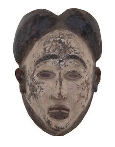 Ancien masque Punu lumbo Gabon Pounou art coutumier africain 17226