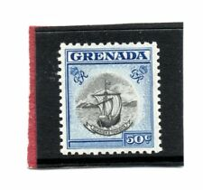 Grenada GV1 1951 50c black & blue sg 182 VLH.Mint