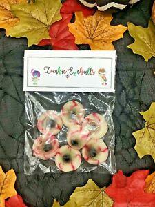 Zombie Eyeballs Novelty Fruit Jelly Sweets Halloween Party Birthday Christmas