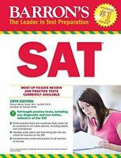 Barron's Sat, 29th Edition: with Bonus Online Tests (Barron's Test Prep) - New!