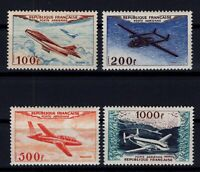 BY142859/ FRANCE – AIRMAIL – Y&T # PA30 / PA33 MINT MH – COMPLETE – CV 250 $