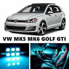 14pcs LED ICE Blue Light Interior Package Kit for VOLKSWAGEN MK5 MK6 GOLF GTI
