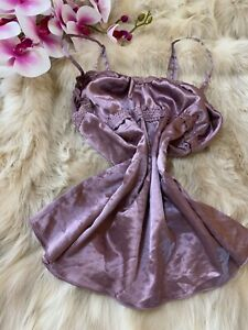 3suisses collection violet Camisole Top sleepwear nightwear size s/m