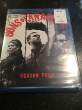 Sons of Anarchy: Season 4 (Blu-ray Disc, 2012, 3-Disc Set New Sealed