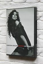Christina Aguilera - Stripped - Live In The U.K. (DVD) REGION- ALL, LIKE NEW