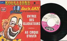 JACK JAY 45T FRANCE LE CIRQUE D'HIVER BOUGLIONE CLOWN