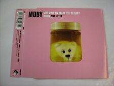 MOBY - WHY DOES MY HEART FEEL SO BAD?/HONEY - CD SINGLE 2000 EXCELLENT - KELIS