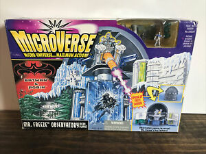 Kenner Microverse  Mr. Freeze Observatory Micro Playset New