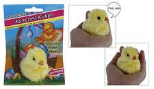 Küken piepsend Ostern Geschenk Kinder Deko gelb plüsch piepst bei Hautkontakt