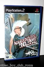 AGGRESSIVE INLINE GAME GIOCO USATO COME NUOVO SONY PS2 EDIZIONE ITALIANA 31280