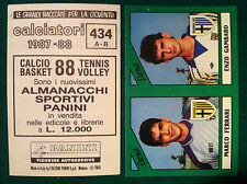 CALCIATORI 1987-88 87-1988 n 434 PARMA SERIE B - Figurine Panini con velina