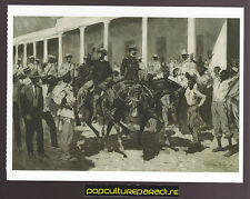 FREDERIC REMINGTON Disbanding Gomez' Army (1899) ART ARTWORK PAINTING POSTCARD