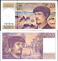 FRANCE 20 FRANCS 1991 P 151 AU-UNC