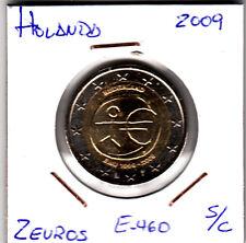E460 MONEDA 2 EUROS SIN CIRCULAR 2009 HOLANDA EMU