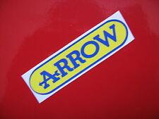ARROW sticker/decal x2