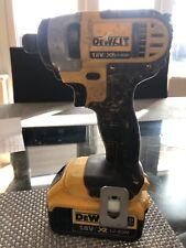 Dewalt 18v Impact Driver Dog885 And Battery Used