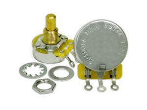 Mojotone CTS 500K Solid Shaft Audio Potentiometer / Pot