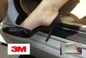 Car Door Sill Scuff 3M Paint Protection Film Translucent Tough