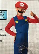 Super Mario Brothers Halloween Boys Costume Medium Size 8 Disguise Nintendo