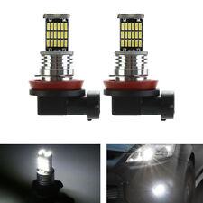 2X H-11 LED 45SMD Nebelscheinwerfer Licht H-8 Birne für AUDI BMW MERCEDES VW