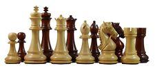 "Bridle Series Premium Staunton 4.4"" Chess Set in Padouk wood"