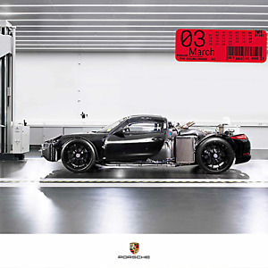 "Porsche #2022 ""one of 1"" Kalender, Driver's Selection, inkl. Sammlermünze OVP"
