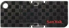 SanDisk Cruzer Pop 16GB USB Flash Drive Memory Stick -  Black Checkerboard