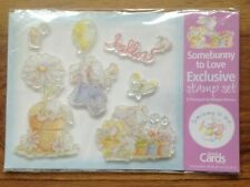 BNIP Somebunny To Love Clear Rubber Stamp Set . Free Postage