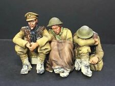 "Resicast 1/35 ""So Cold"" Seated British Soldiers WWI Vignette (3 Figures) GBS019"