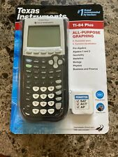 Texas Instruments TI-84 Plus Black Graphing Calculator