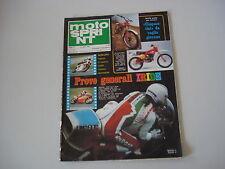 MOTOSPRINT 9/1979 PROVA TEST MOTO TGM 250 CROSS