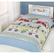 Parures et housses de couette bleu avec des motifs Pour enfant pour Taie d'oreiller