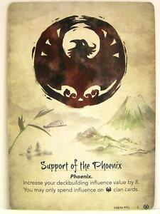 Legend of the Five Rings - 1x #003 Support of the Phoenix - Disciples o. t. Void
