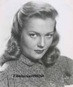 "PATRICE WYMORE - Original Vintage 9"" x 7"" Studio Portrait Photograph 1950s F#16"