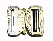 AustriAlpin Cobra 38mm Chrome Polished Buckle ( Male Adjustable FC38AVF