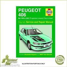 Peugeot 406 1.8 2.0 Petrol 2.0 2.2 Diesel 99-02 (T to 52 Reg) Haynes Manual