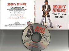 MARTY STUART The Likes of me REPEATS 3 TIMES 1995 USA PROMO radio DJ CD single
