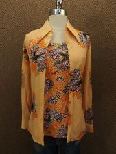Vibrant Personality Vtg 60s NEW NOS 2 Pc Set Artsy Butterfly Tank & Shirt 11/12