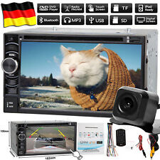 Bluetooth CD DVD Autoradio+Kamera für Ford Cougar Fiesta Focus Galaxy Mondeo Pum