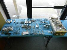 Codman Pilling Storz V. Mueller Surgical ENT Instrument Set W/ Case