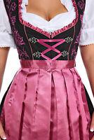 NEW!US Sz 8.NEW!Germany,German,Trachten,Oktoberfest,Dirndl Dress,Mauve US Seller