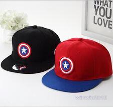 Kids Super Hero Captain American Adjustable Baseball Cap Children Hip Hop Hat