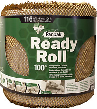 100 X 14 Ranpak Ready Roll Geami Protective Paper Cushioning Wrap Bubble Alte