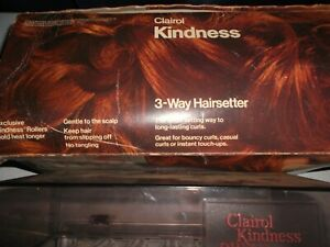 Clairol Kindness 3-way hairsetter