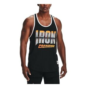 Under Armour Men's Project Rock Iron Tank Fitness Training T-shirt 1361724-001