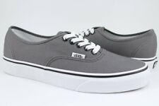 Vans Authentic - Pewter Gray/Black - Canvas Shoes - Era -VN000JRAPBQ -Men/Women