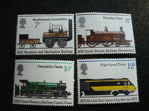 Stamps - Great Britain - Scott# 749-752